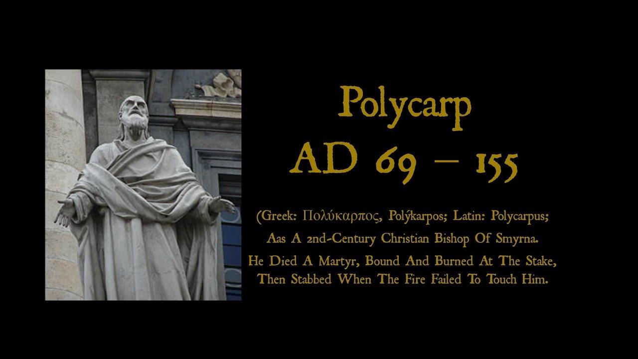 Resultado de imagem para Polycarp (AD 69-155),