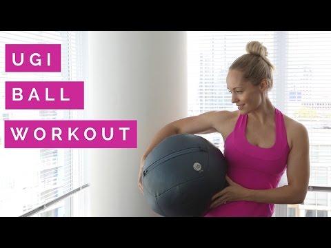 At Home UGI Ball Workout