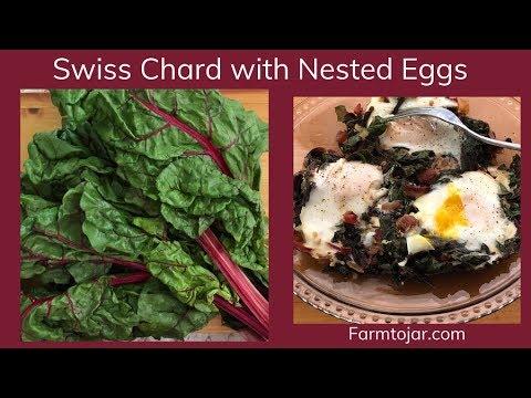 Sauteed Greens - Swiss Chard with Eggs