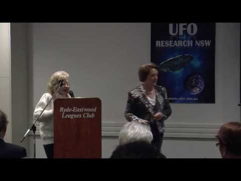 Moira Mc Ghee - Australian UFO Researcher