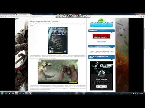 How to download King Kong Official Game For Free |HD 2018