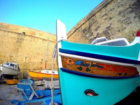 Welcome To Malta ( Part One - Sliema & Valletta ) - GoPro HERO 4 Travel Video HD