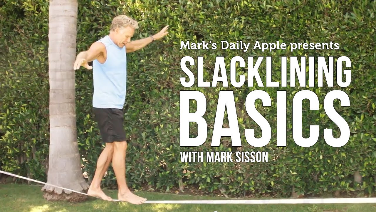Slackline. Een trendy sport. Concentratie, balans en fun!