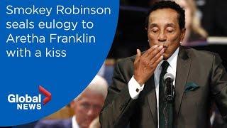Aretha Franklin funeral: Smokey Robinson FULL eulogy