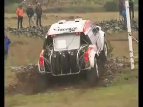 Toyota's De Villiers and Alvarez hold 2nd and 7th in Dakar Rally ...