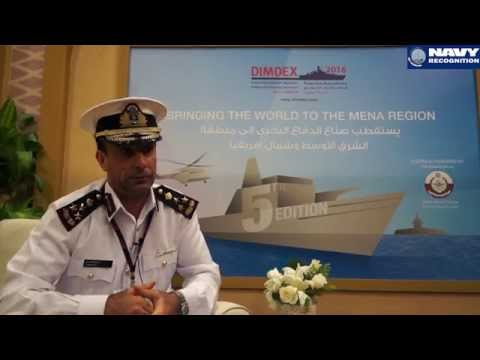 DIMDEX 2016 Doha International Maritime Defence Exhibition Qatar Navy Recognition Web TV Show Daily