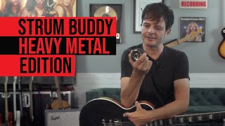 One of the best tiny metal amps Strum Buddy Heavy Metal Edition