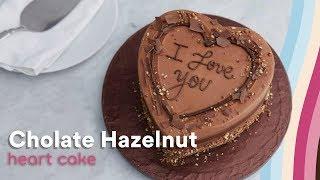 Lola´s Cupcakes HAZELNUT HEART CAKE