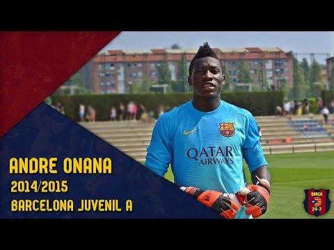 Andre Onana 2014/2015 ● Barcelona Juvenil A ● Welcome to Ajax