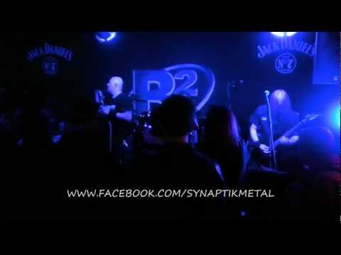 SYNAPTIK 'YOUR COLD DEAD TRACE' LIVE @ THE B2 NORWICH UK 6.12.12. THRASH METAL DEATH MELODIC
