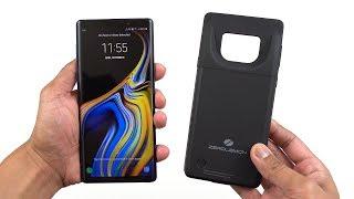 Samsung Note 9 5000mAh Battery Case (ZEROLEMON) My Experience! [4K]