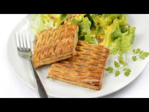 recette-:-feuilleté-au-jambon-et-aux-champignons
