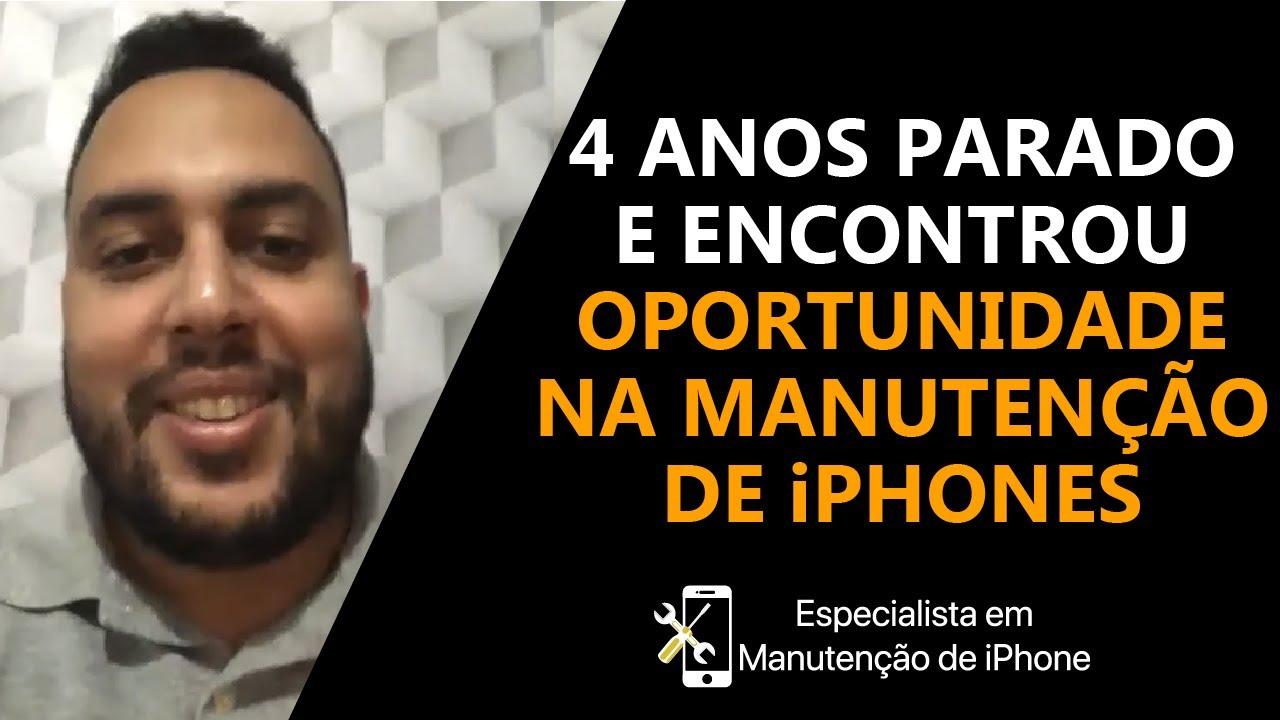 4 Anos parado e encontrou oportunidade na manutenção | Talk com Matheus Reis