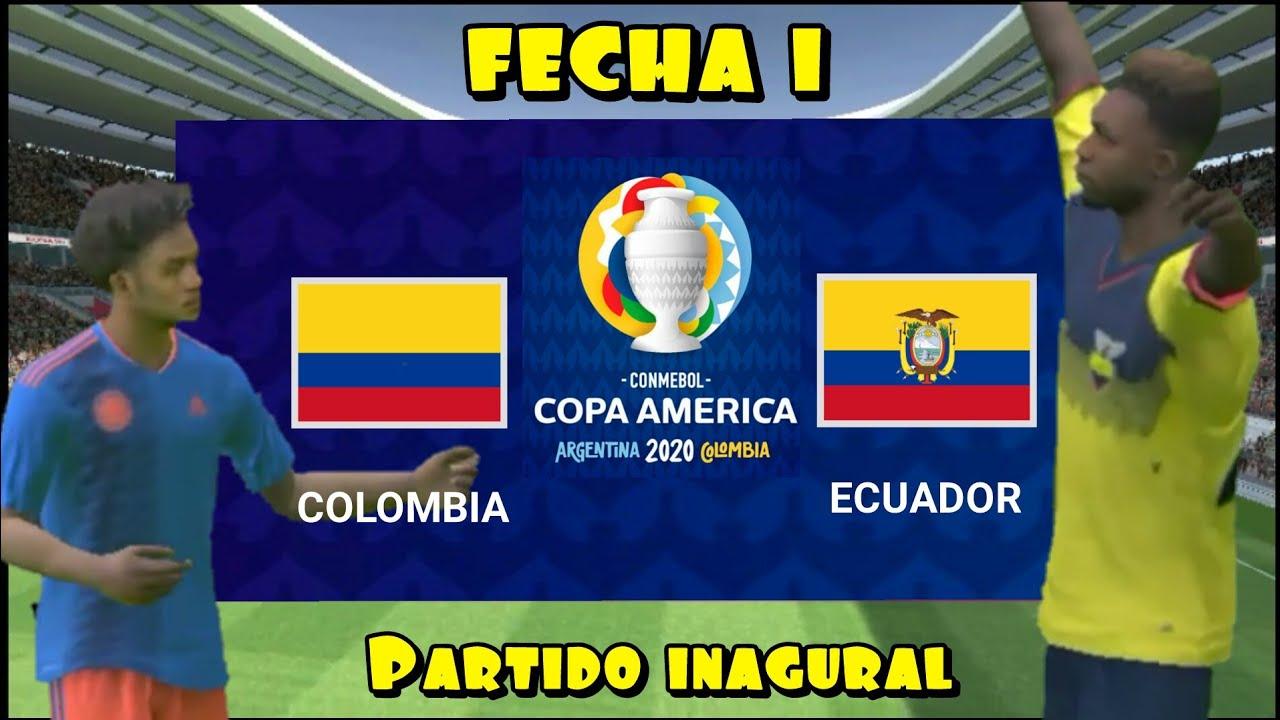 ME ENFRENTÓ A COLOMBIA EN LA FECHA 1 - TORNEO COPA AMÉRICA ARGENTINA - BRASIL 2020