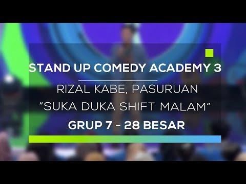 Download Youtube: Stand Up Comedy Academy 3 : Rizal Kabe, Pasuruan - Suka Duka Shift Malam