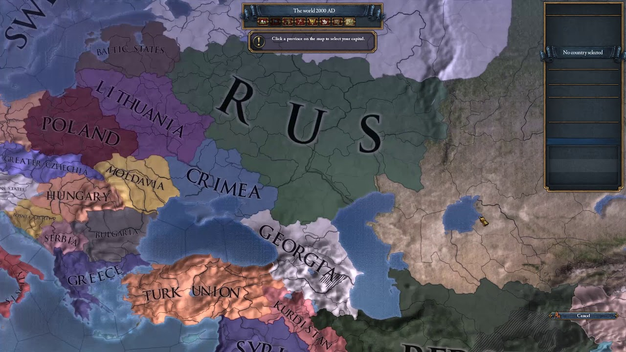 EU4 Alternate History World Building
