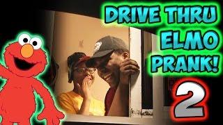 Drive Thru Elmo Prank 2