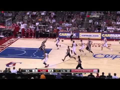 NBA 2010-11: Spurs vs. Clippers If Only Dunks Equaled Wins (ask Eric Gordon)