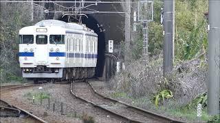 日豊本線竜ヶ水駅 817系&415系(Fk517)