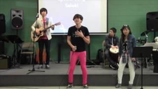 2017年6月11日 礼拝の中でサルーキ=のライブが行われました。