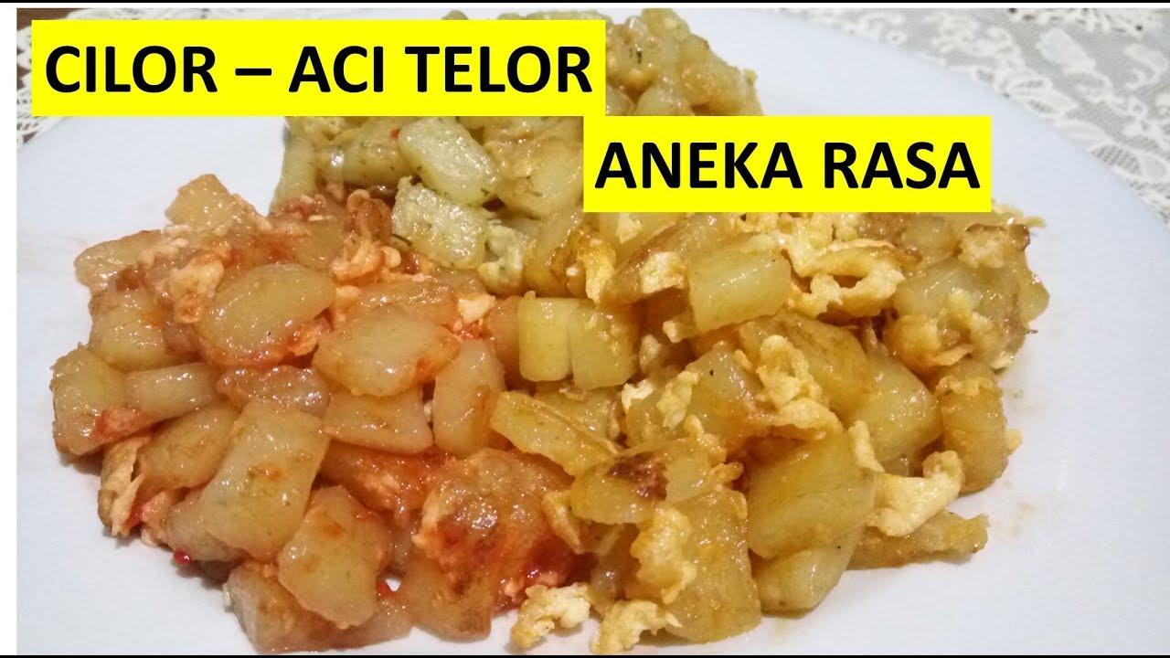 Hot Resep Cara Membuat Adonan Cilor Aci Telor Aneka Rasa Asli Bandung Indonesian Street Food Youtube