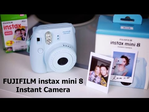 FUJIFILM instax mini 8 / Instant Camera / ОБЗОР UNBOXING REVIEW