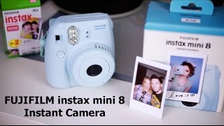 FUJIFILM instax mini 8 / Instant Camera / ОБЗОР UNBOXING REVIEW(, 2014-07-21T15:20:24.000Z)