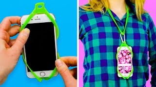 22 AWESOME PHONE HACKS AND CRAFTS FOR KIDS