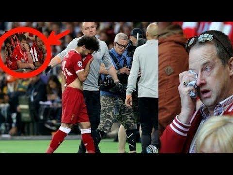 Semua Fans Menangis Saat M.Salah Cidera    Real Madrid 3-1 Liverpool Final UCL 2018