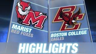 Marist vs Boston College | 2014-15 ACC Men