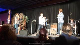 [Torcon 2015] Misha Panel Intro and doing the splits
