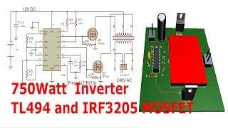 Make A 1500w Power Inverter With Tl494 12 240v Ac | MP3IKON TK