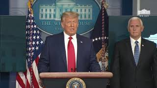 11/24/20: President Trump Delivers Remarks