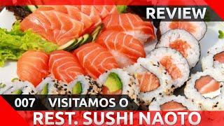 Sobre o Vídeo *--- Visitamos o restaurante Sushi Naoto na região do...