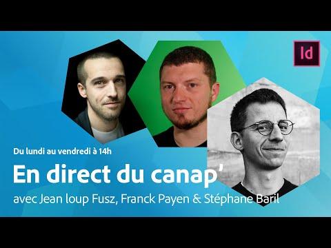 En Direct Du Canap' | Grep Dans InDesign Avec Jean Loup Fusz | Adobe France