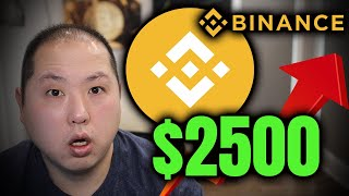 BINANCE COIN IS HEADING TO $2500 DOLLARS!!! HERE'S WHY!!!