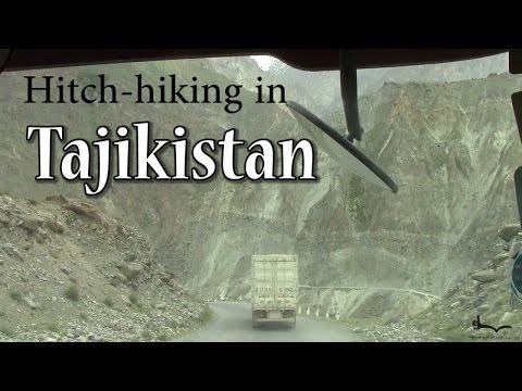 Hitchhiking in Tajikistan compilation
