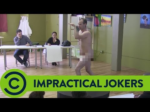 Murr Poses Nude - Best of Impractical Jokers | Comedy Central UK