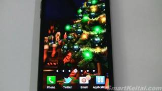Christmas HD Live Wallpaper for Android   (Reviewed on Sprint Galaxy S II) thumbnail