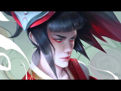 Painting Process | Blood Moon Akali