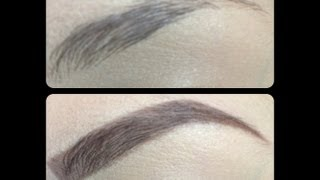 How I draw / fill in my eyebrows ✎