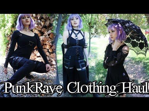 PUNKRAVE CLOTHING HAUL | Scream Kiwi