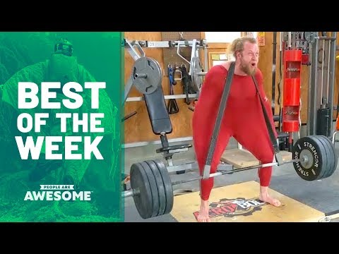 Best of the Week: Jujimufu, Skating Skills & Cyr Wheels | People Are Awesome