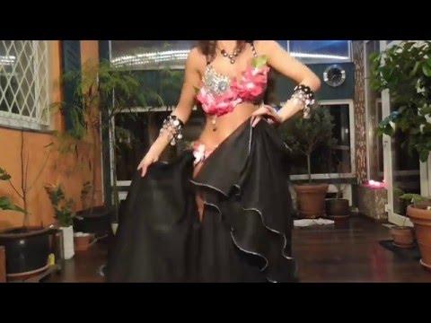 Habibi ya nour el ein - Amr Diab | Isabella Bellydance improvisation | حبيبى يانور العين HD