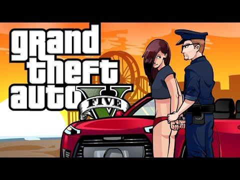 GTA 5 - DIRTY GIRL! (POLICE MOD GTA 5)