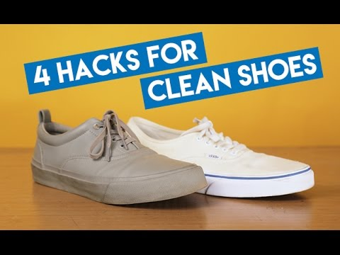 #StyleSchool: 4 Easy Hacks To Keep Your Shoes Clean