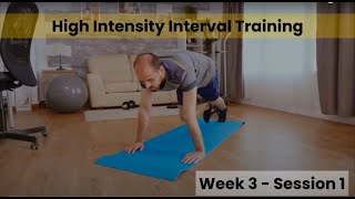HIIT - Week 3/4 Session 1 (Control)