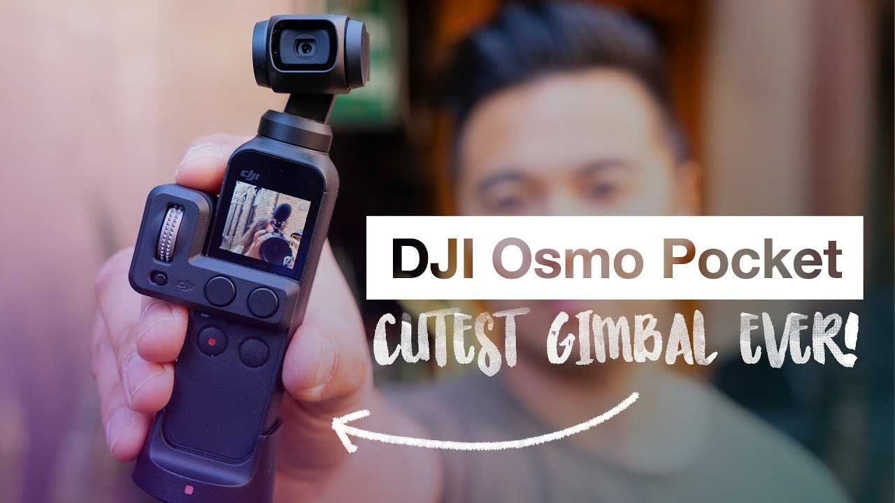 DJI Osmo Pocket FIRST LOOK - CUTEST GIMBAL EVER!!! - YouTube
