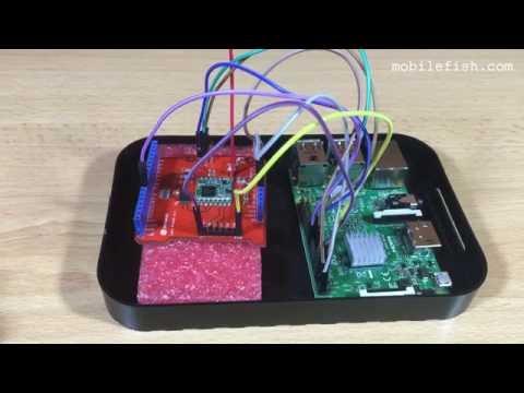 Connect Dragino Lora Shield v1 1 to Raspberry Pi 3 model B