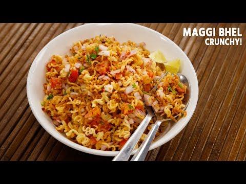 Maggi Bhel Recipe - Instant 5 Minute Snack Noodles CookingShooking